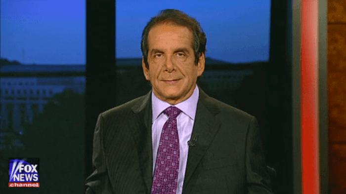 charles krauthammer neocon warmonger jew dies