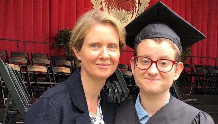 "Lesbian NY Gubernatorial Candidate Has Transgender ""Son"""