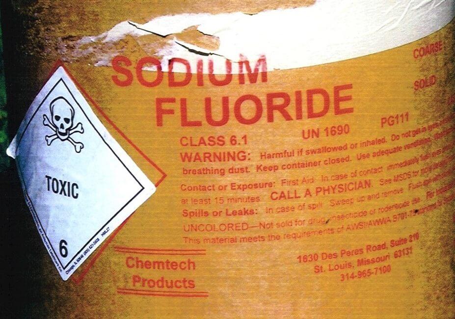 fluoride drinking water epa toxic