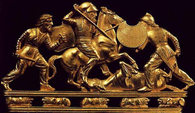 genghis khan mongols white scythians