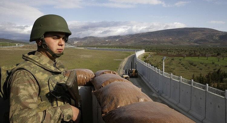 turkey border wall migrants eu