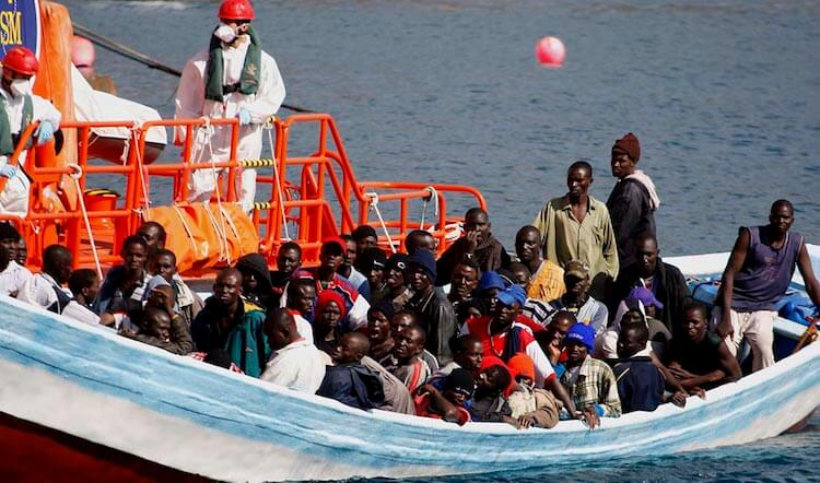 "Boatload of African Migrants Threaten to Kill Whites Who ""Rescued"" Them"