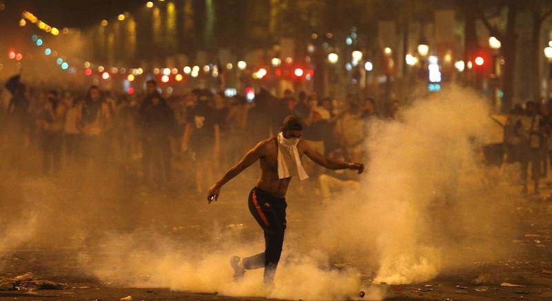 Rioting Non-Whites Burn Paris To Celebrate African World Cup Victory