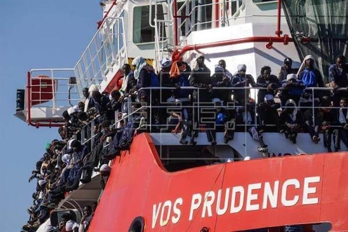 Soros Doctors Without Borders Charged With Human Trafficking of Migrant Invaders