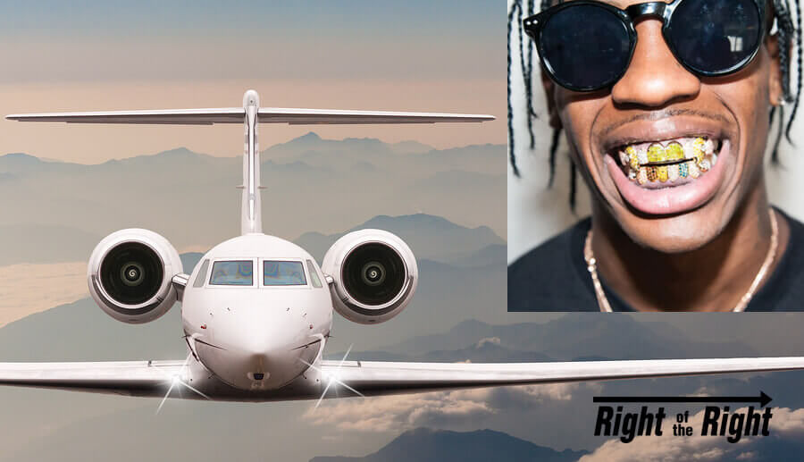 Black Teen Arrested for Attempting to Steal Airliner to Fly Himself to Rap Concert jet