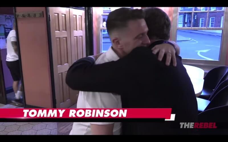 tommy robinson ezra levant
