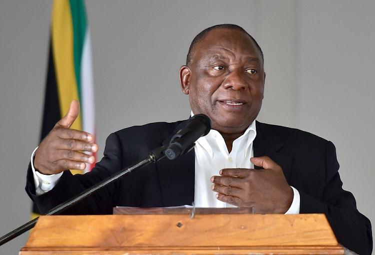 Cyril Ramaphosa land seizure
