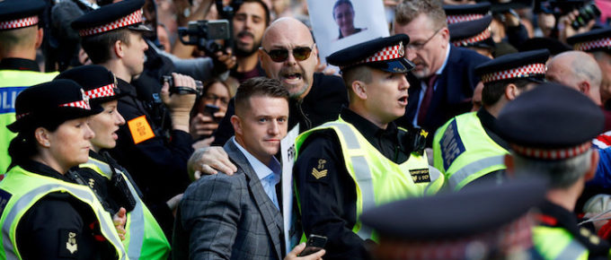 "Jewish Media Continues to Groom Tommy Robinson As Face of UK ""Far Right"""