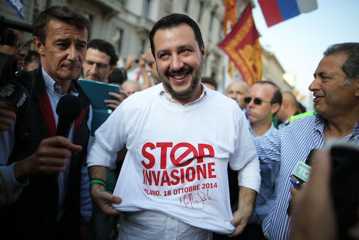 Salvini Unveils His Racist Plan to Make Italy Safer For Italians