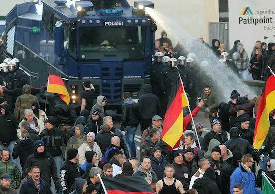 Antifa Claims Germans Who Protest Muslim Gang Rapists Are Inciting Racial 'Hate'