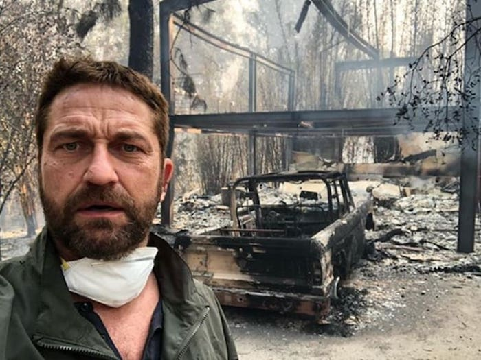 After Publicly Supporting IDF's Gaza Genocide Actor Gerard Butler's House Burns to Ground