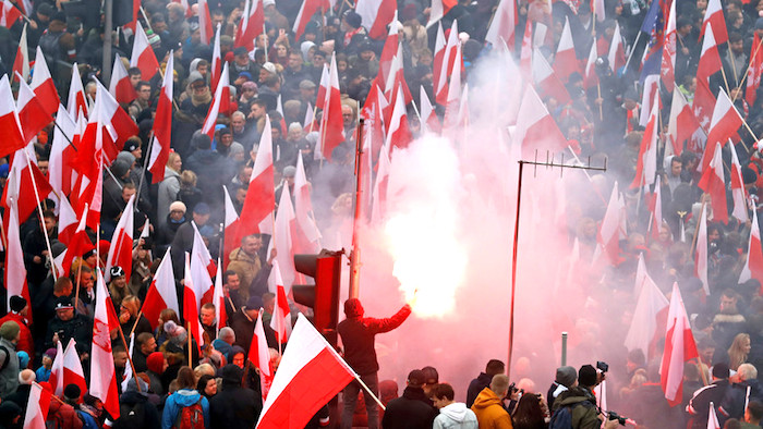 Poland Hosts Largest Pro-White Anti-Migrant Rally in the World