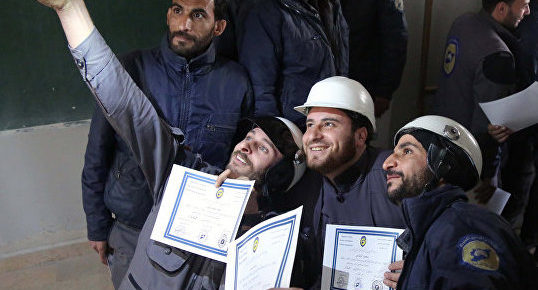 Russia Exposes Jewish-Funded White Helmets as 'Organ Traders, Terrorists, & Looters'