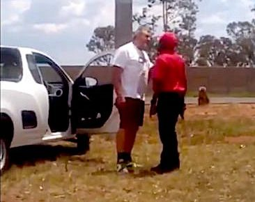 Shocking Video of White South African Shot in Back and Killed by Cowardly Black