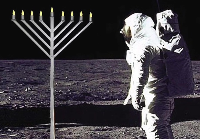 Even The Moon Is No Longer Safe From Holocaust Propaganda