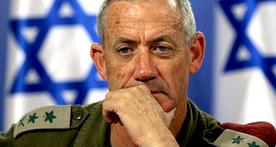 Netanyahu's Opponent Gantz Steals Nazi Slogan for 'Israel Uber Alles' Election Campaign