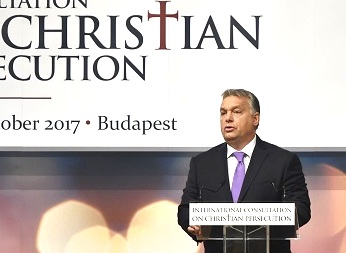 Hungary's Orban: Europe Will Split Between White Christian East and Multi-Racial West